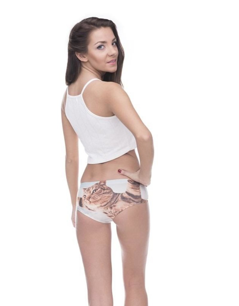 """Sihnderella Panties-FLY CAT (ONE SIZE) """"NO RETURNS"""""""