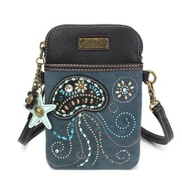 Chala Bags Crossbody-Cell Phone Bag-Dazzled JELLYFISH