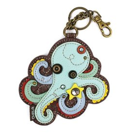 Chala Bags Key Fob, Coin Purse-OCTOPUS