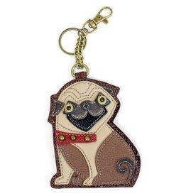Chala Bags Key Fob, Coin Purse-PUG