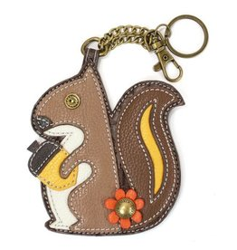 Chala Bags Key Fob, Coin Purse-SQUIRREL
