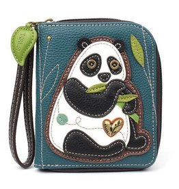 Chala Bags Wallet-Zip Around-NEW PANDA