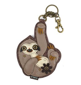 Chala Bags Key Fob, Coin Purse-SLOTH