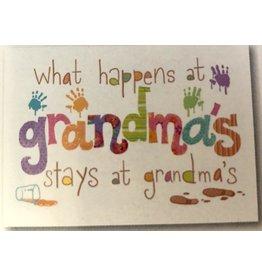 Leanin Tree MAGNET: What Happens at Grandma's