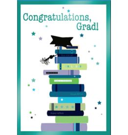 Leanin Tree Graduation Card: Concratulations Grad!