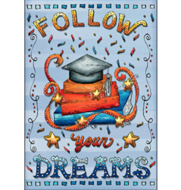 Leanin Tree Graduation Card: Follow Your Dreams