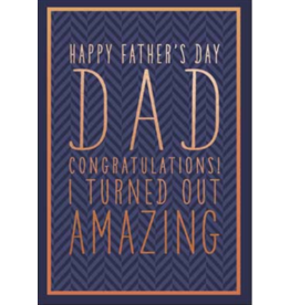 Leanin Tree Fathers Day Card: Happy Father's Day DAD