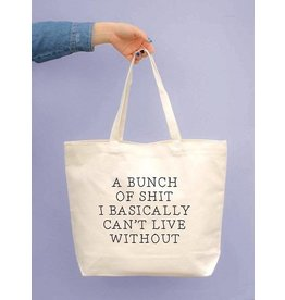 TSF Design Tote - 'Can't Live Without' Canvas Bag