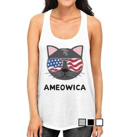 TSF Design Tank Top - Ameowica, USA Cat
