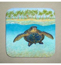 Stephanie Kiker COASTERS-Turtle in Paradise (SET 4)