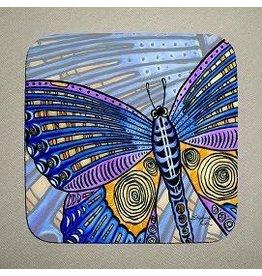 Stephanie Kiker COASTERS-Butterfly Wings (SET 4)