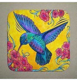 Stephanie Kiker COASTERS-Hummingbird (SET 4)