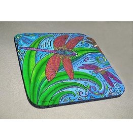 Stephanie Kiker COASTERS-Dancing Dragonflies (SET 4)