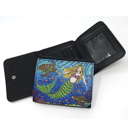 Stephanie Kiker WALLET-Mermaid & Turtles
