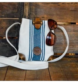 Le Papillon Crossbody-Reims Blue Stripe
