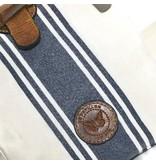 Le Papillon Crossbody-Reims Blue Stripe