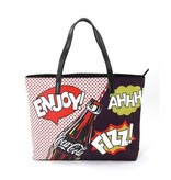 Comeco Tote-Coca-Cola Pop Art