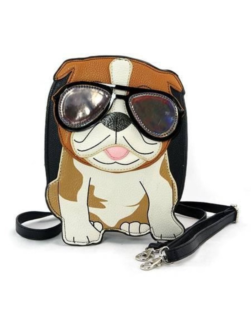 Comeco Crossbody-Cool Dad Bulldog