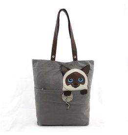 Comeco Tote-Peeking Siamese Cat