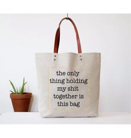 Fun Club Tote-Holding Shit Together