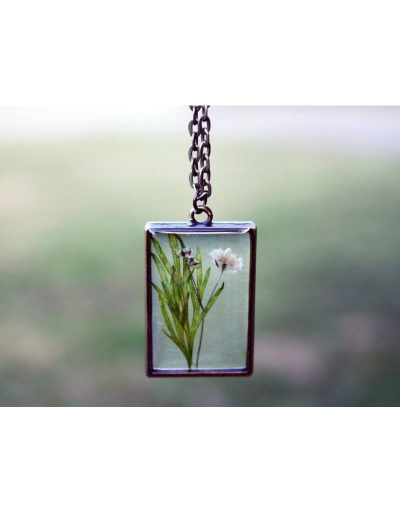 The Pretty Pickle Necklace-Birth Month Flower, MAY, Lily of the Valley
