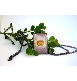 The Pretty Pickle Necklace-Birth Month Flower, SEPTEMBER, Aster