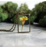 The Pretty Pickle Necklace-Birth Month Flower, OCTOBER, Marigold