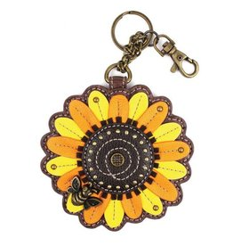 Chala Bags Key Fob, Coin Purse-SUNFLOWER