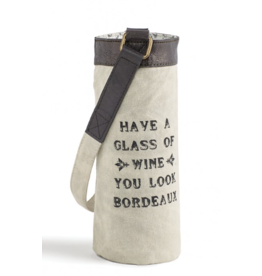 Mona B Wine Bag-'Bordeaux'