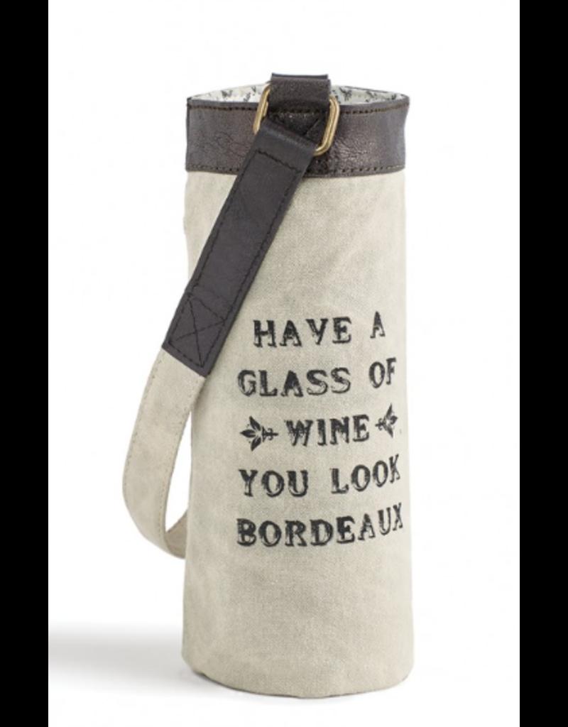 Mona B Wine Bag-'Bordeaux'