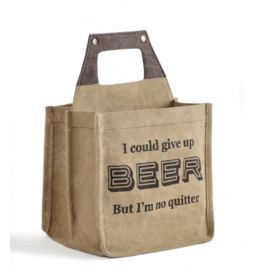 Mona B Canvas Caddy-'Quitter'