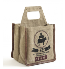 Mona B Canvas Caddy-'BBQ B-Word'