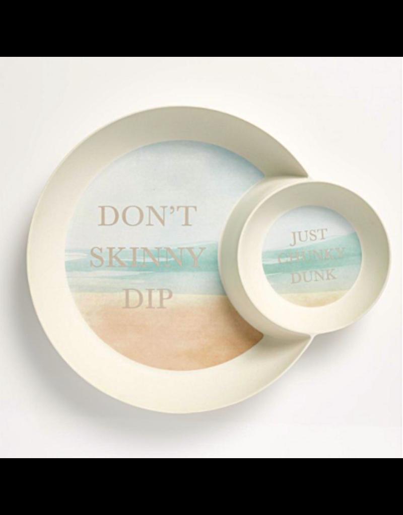 Mona B Chip Tray-Skinny Dip n' Chip Plate