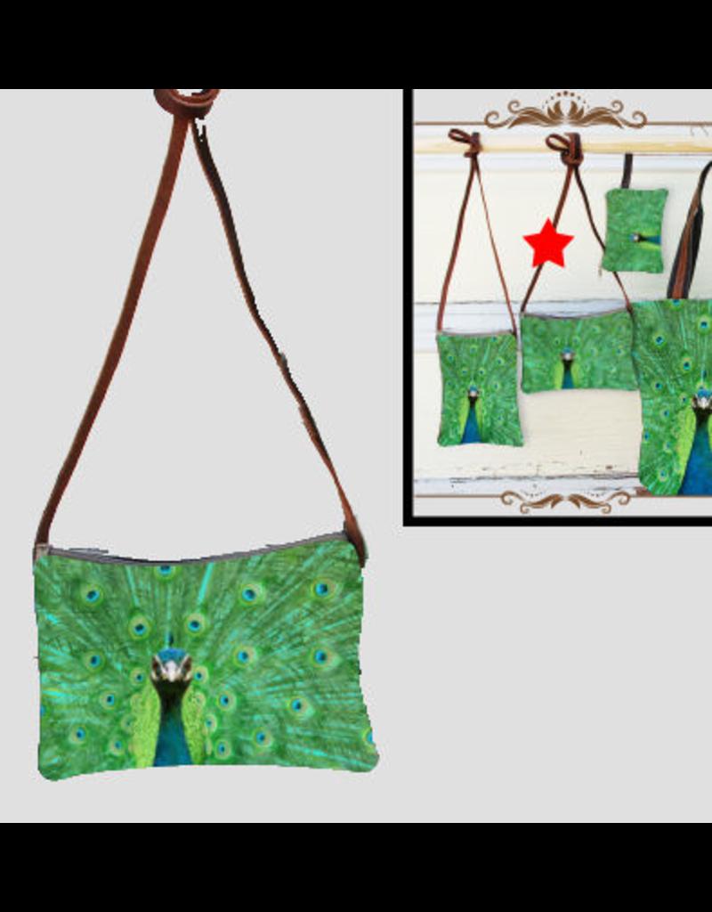 Art Studio Company Crossbody Bag (H)-Peacock Bright