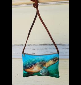 Art Studio Company Cross-Body Bag (H)-Sea Turtle