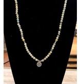 Bracelet Wrap-Lotus Amazonite