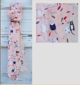 Art Studio Company Scarf Cotton-CAT Duo (Pink)