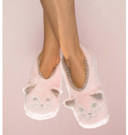 Faceplant Footsies Slippers-Cat Naps