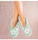 Faceplant Footsies Slippers-Happy is the New Pretty