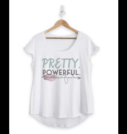Faceplant T-Shirt-Pretty Powerful