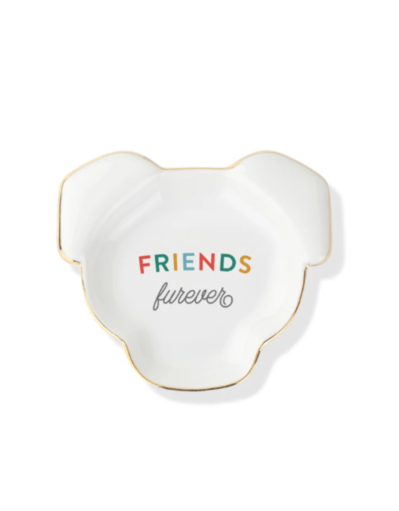 Petshop Plate-FRIENDS FUREVER-Dog Face Tray