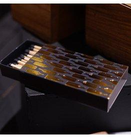 """Rewined Rewined Matches - Gold Foil Matchbox (60 x 4"""")"""