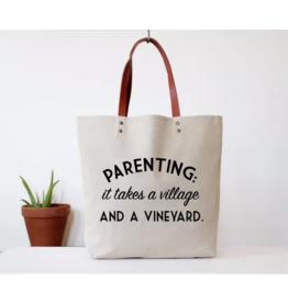 Fun Club Tote-Parenting, It Takes A Village and A Vineyard