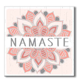 My Word Signs Yoga Chunkie Sign Large-Namaste