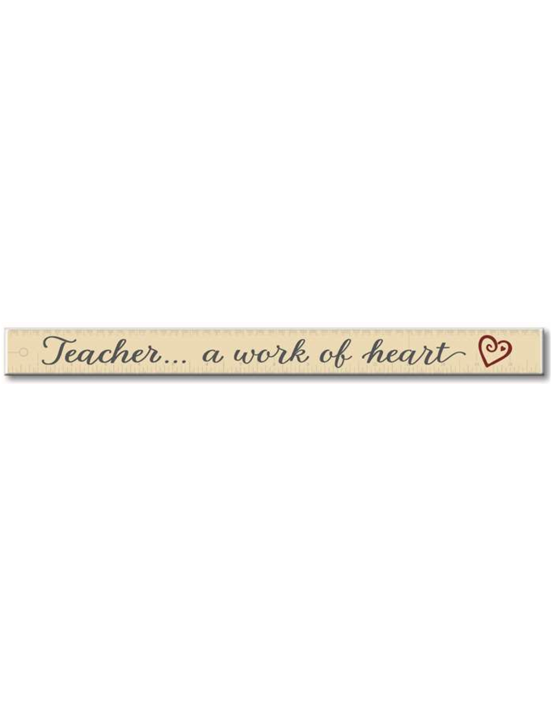 My Word Signs Skinny Sign-Teacher, A Work Of Heart