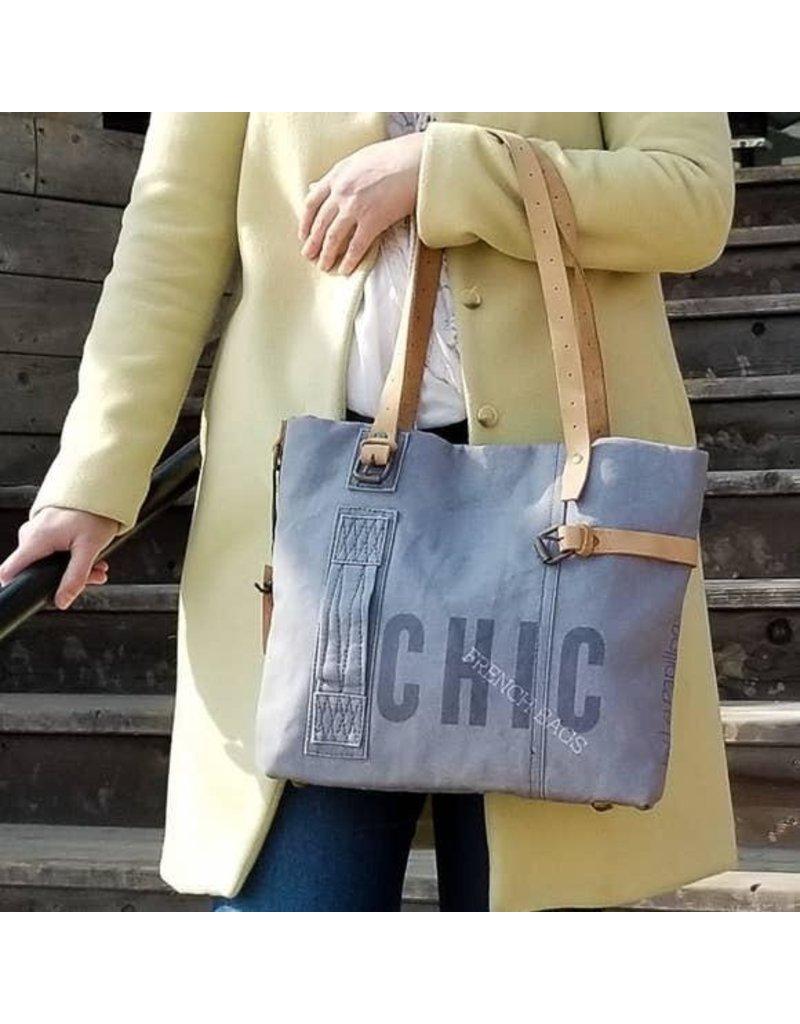 Le Papillon Handbag-Le Papillon Blue Serene Chic