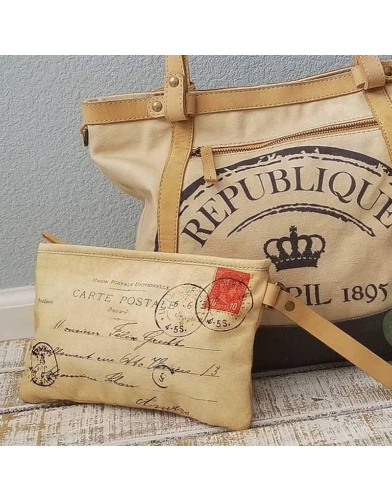 Le Papillon Handbag-Le Papillon French Republique 1895