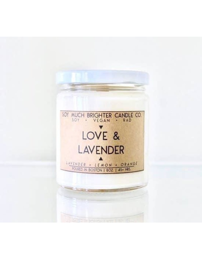 Soy Much Brighter Candle-Soy Much Brighter, LOVE & LAVENDER
