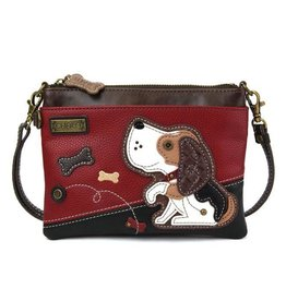 Chala Bags Crossbody-Mini-Dog Gen II (Burgundy)