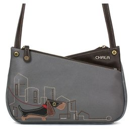 Chala Bags Crossbody-Criss-Wiener Dog